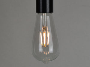 E27 LED Filament Bulb | ST64 | Clear - Vendimia Lighting Co.