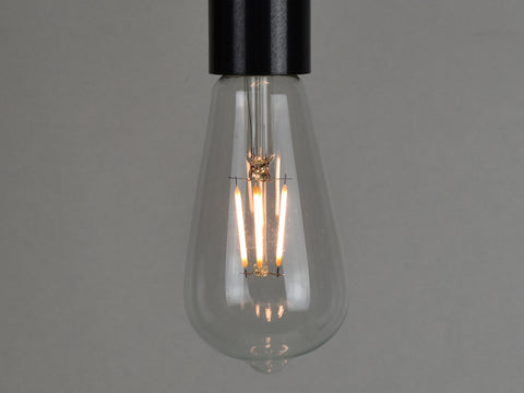 B22 LED Filament Bulb | ST64 | Clear - Vendimia Lighting Co.