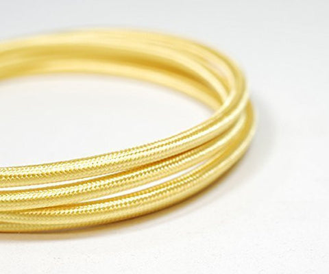 Round Fabric Cable | Habañero Gold