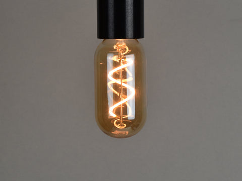 B22 LED Filament Bulb | T45 | Spiral - Vendimia Lighting Co.
