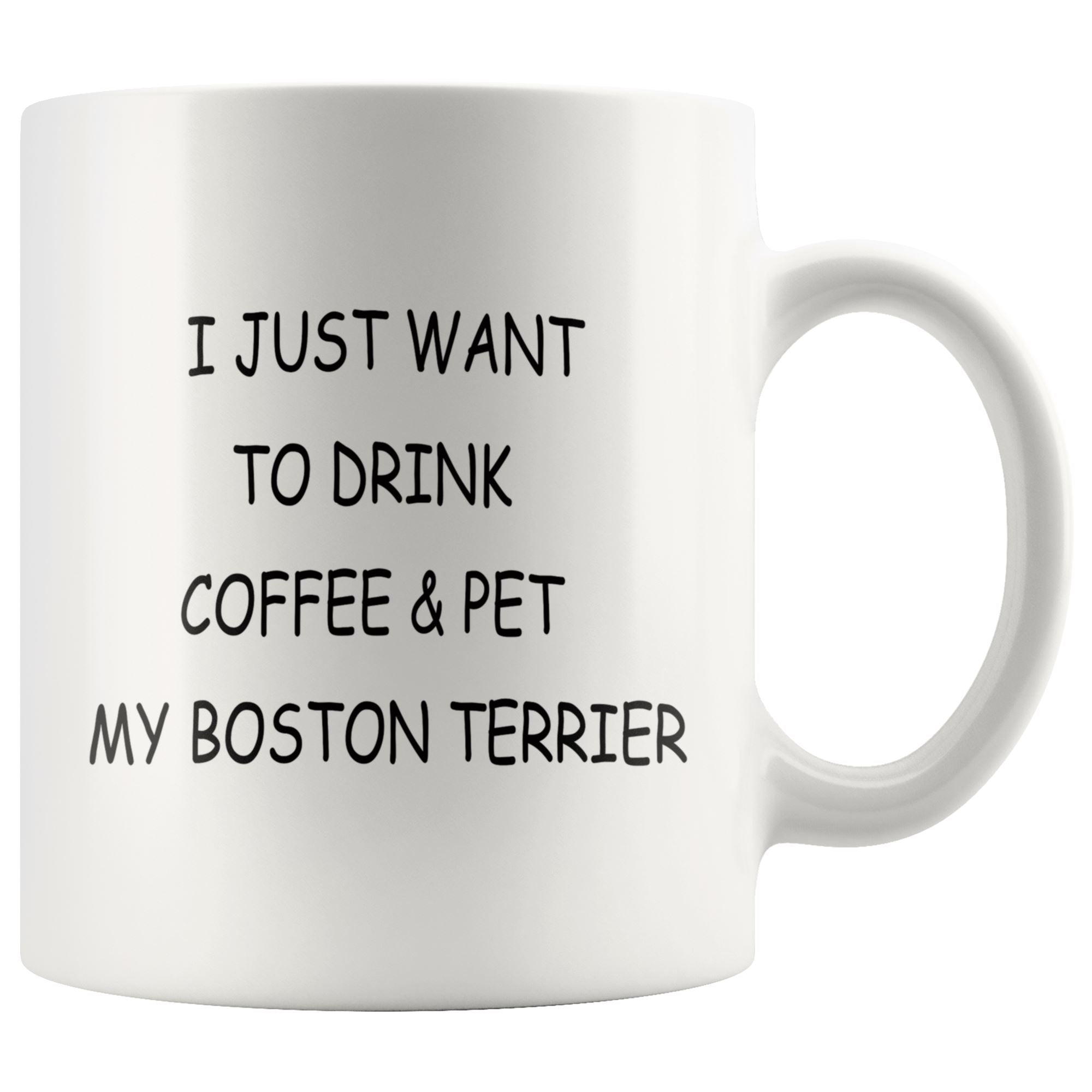 Boston Terrier Mug Drinkware teelaunch 11oz Mug