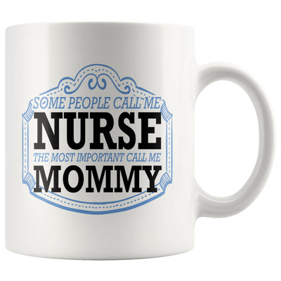Nurse Mommy Mug Drinkware teelaunch 11oz Mug
