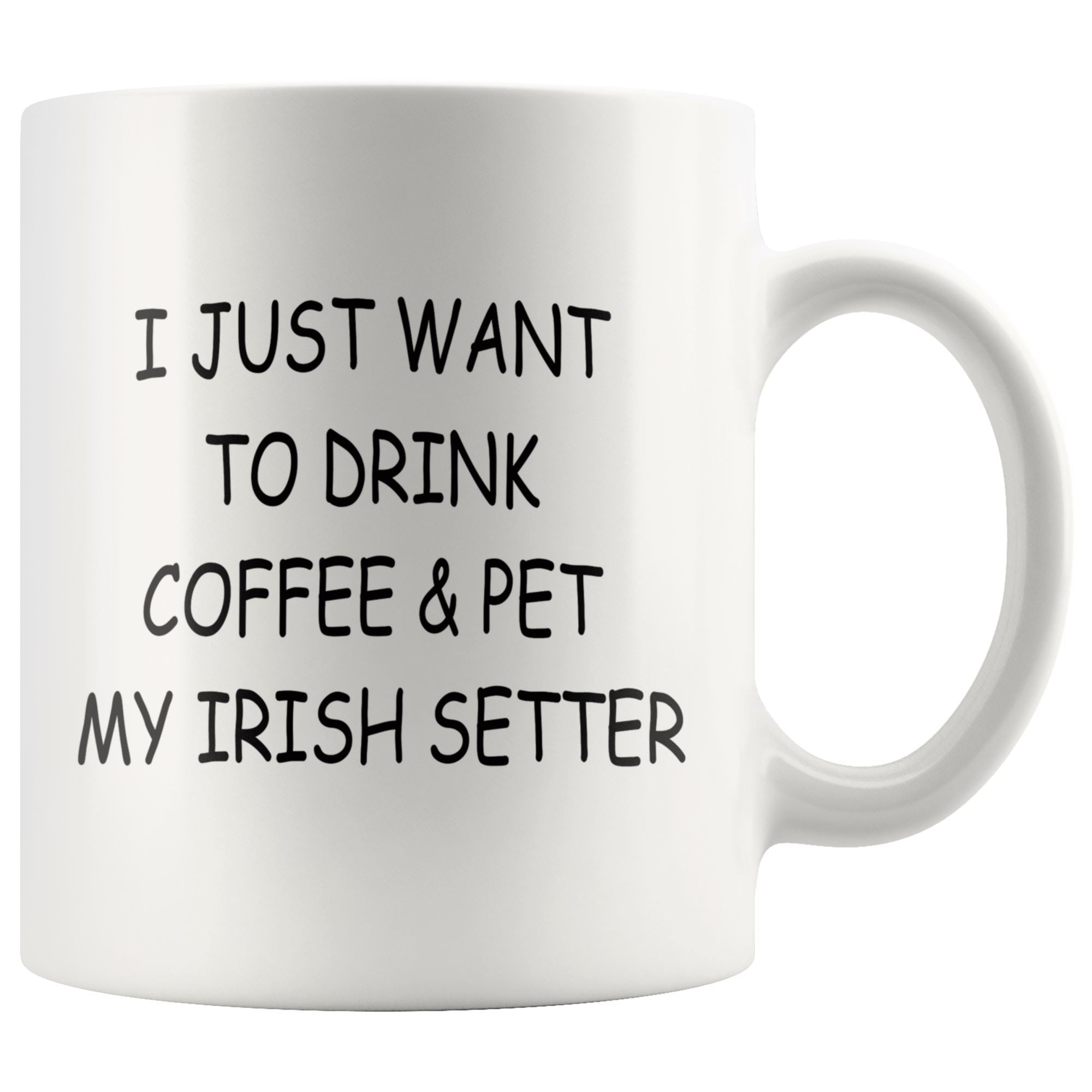 Irish Setter Mug Drinkware teelaunch 11oz Mug