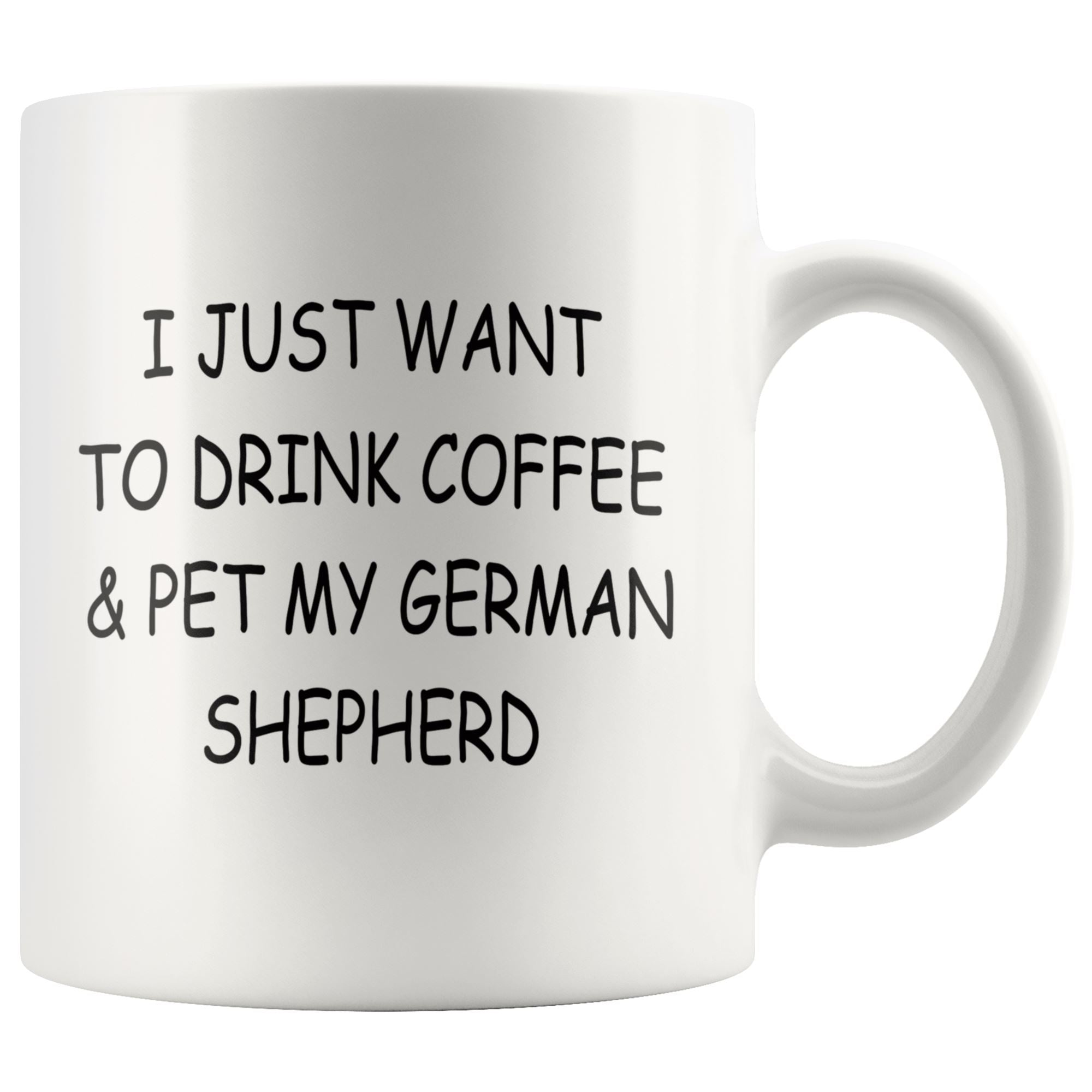 German Shepherd Mug Drinkware teelaunch 11oz Mug