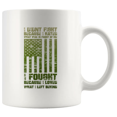 What I left Behind Mug Drinkware teelaunch 11oz Mug