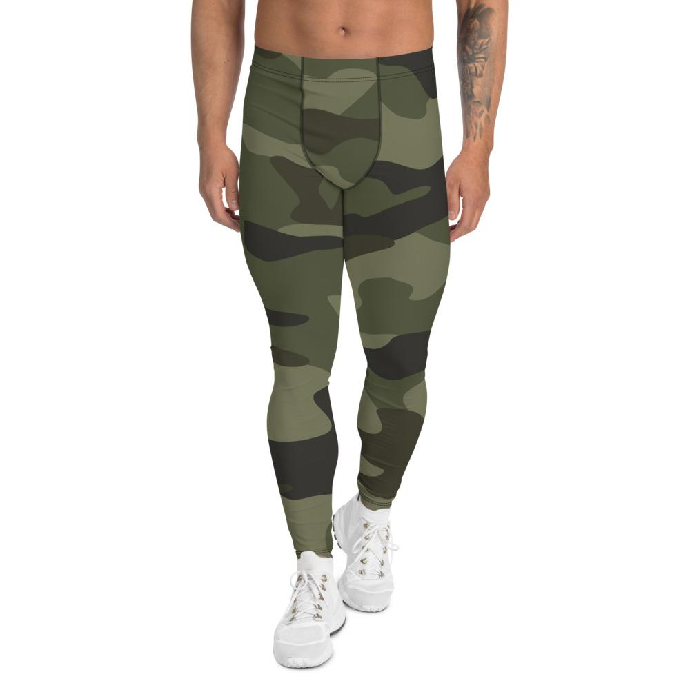 Men's Compression Pants Green camouflage GearRex