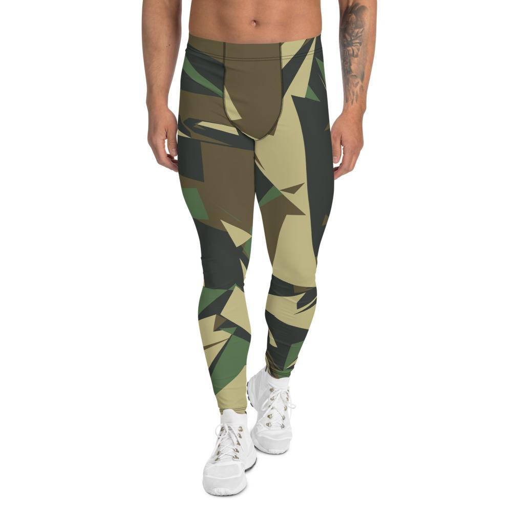 Men's Leggings Geometric Camouflage GearRex XS
