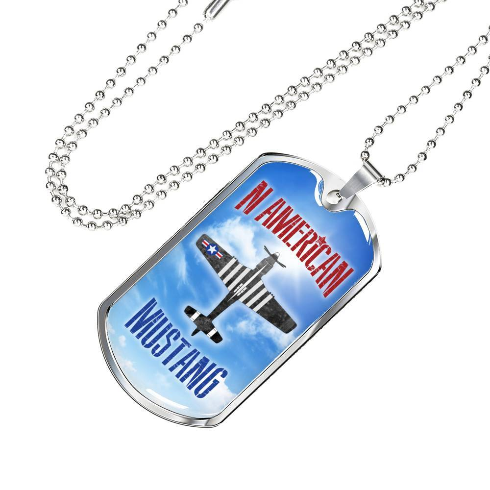 N American Mustang - Dog Tag Jewelry ShineOn Fulfillment