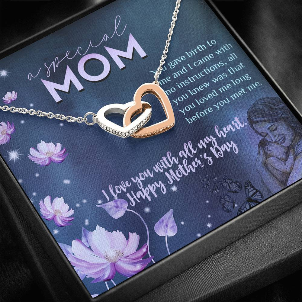 Happy Mother's Day - A Special Mom Necklace Jewelry ShineOn Fulfillment Standard Box