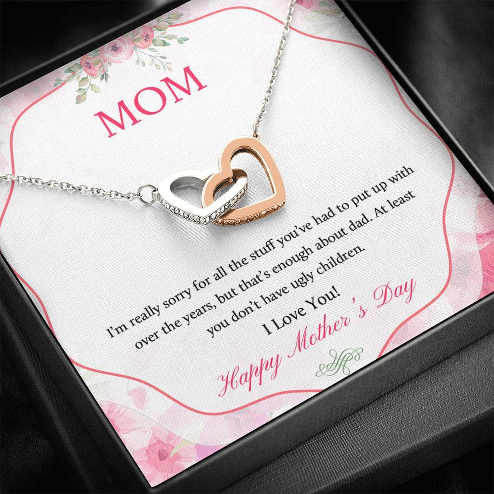 Happy Mother's Day - Mom Necklace Jewelry ShineOn Fulfillment Standard Box