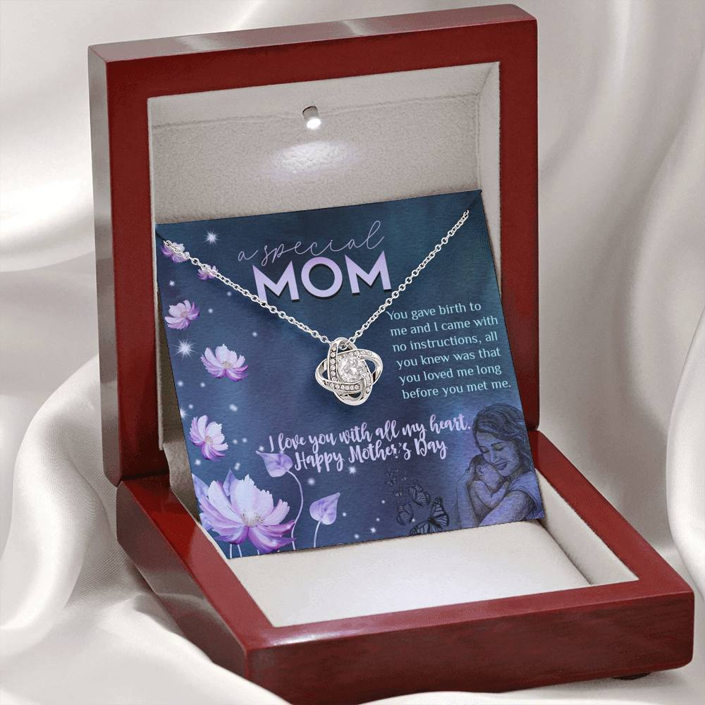 Happy Mother's Day - A special Mom Jewelry ShineOn Fulfillment Mahogany Style Luxury Box
