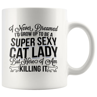 Sexy Cat lady Drinkware teelaunch 11oz Mug