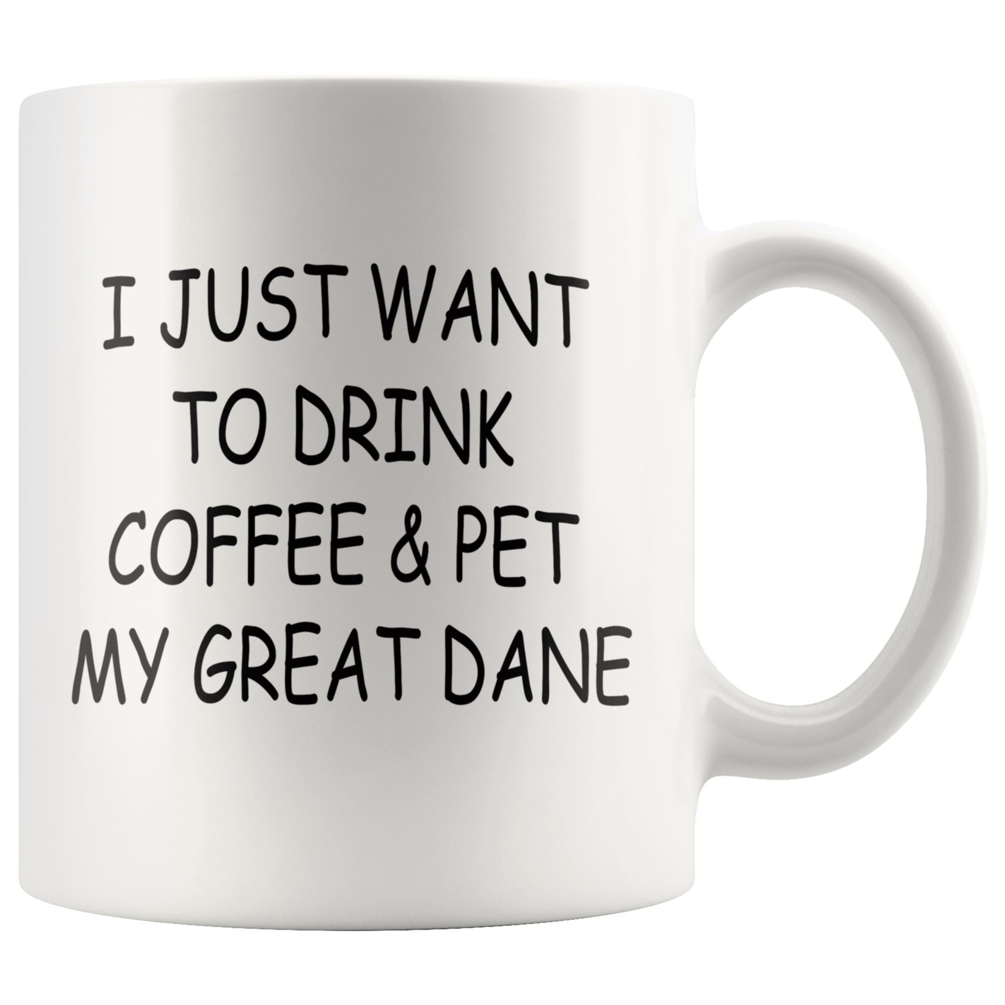 Great Dane Mug Drinkware teelaunch 11oz Mug