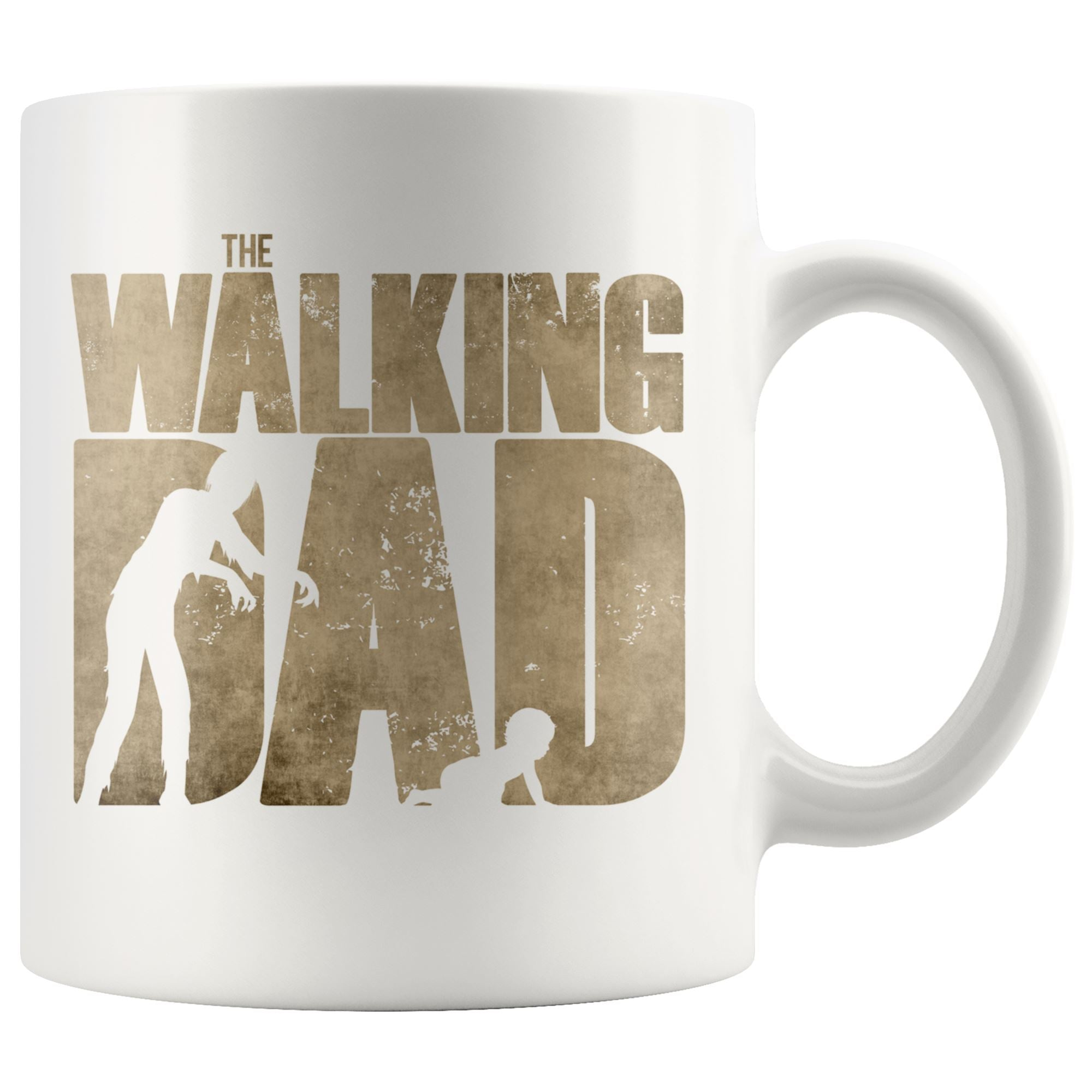 The Walking Dad mug Drinkware teelaunch 11oz Mug