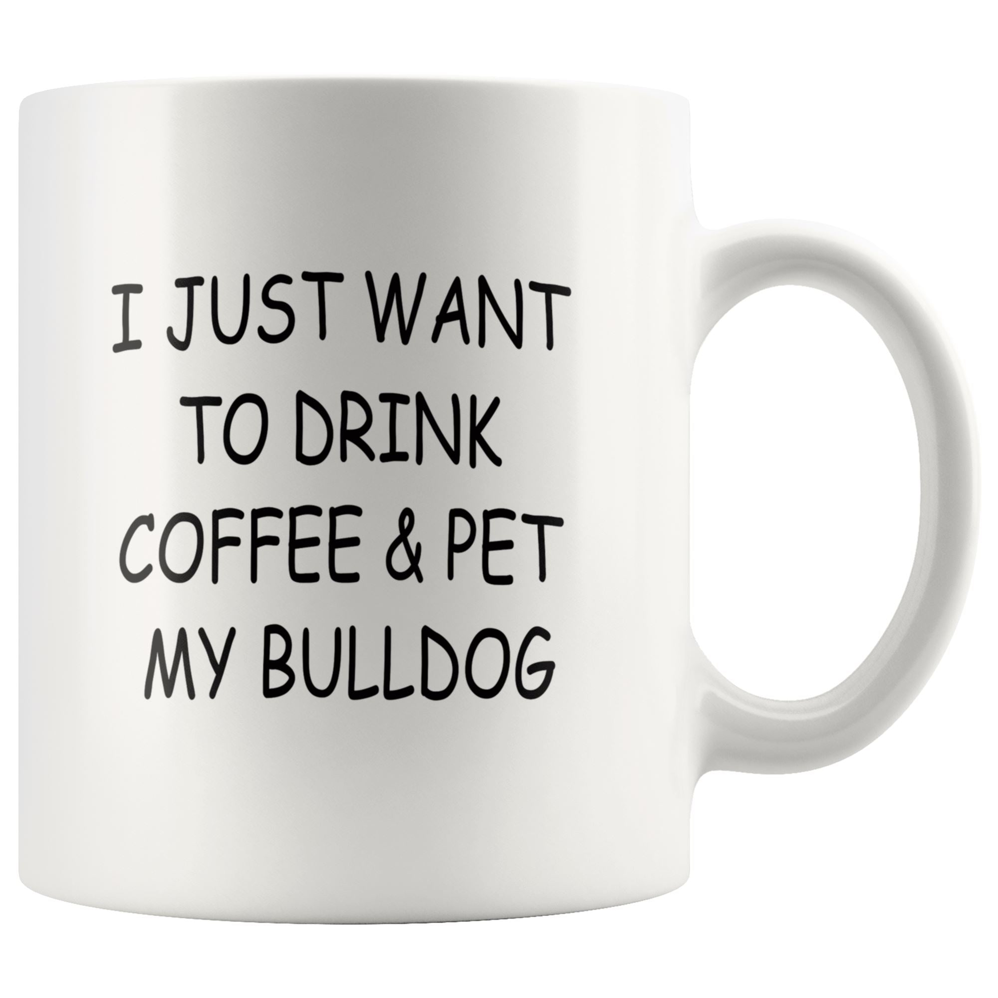 Bulldog Mug Drinkware teelaunch 11oz Mug