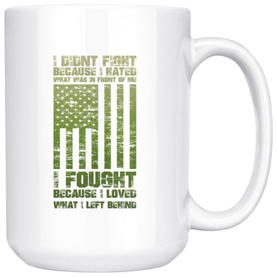 What I left Behind Mug Drinkware teelaunch 15oz Mug