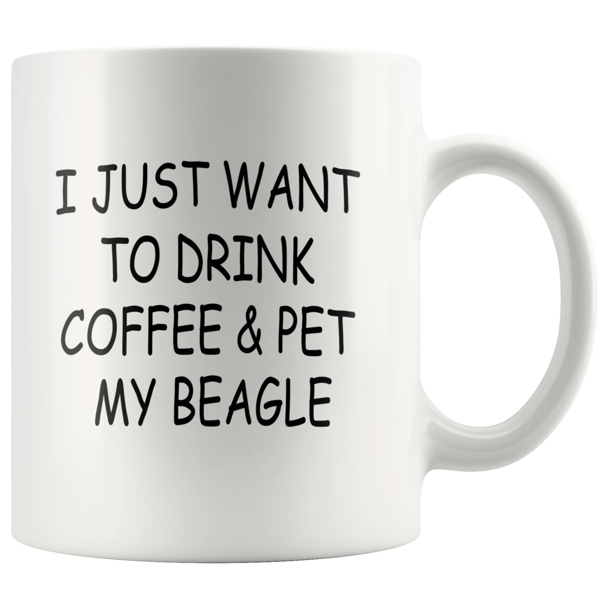 Beagle Mug Drinkware teelaunch 11oz Mug