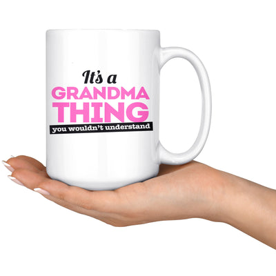 Grandma Thing Mug Drinkware teelaunch