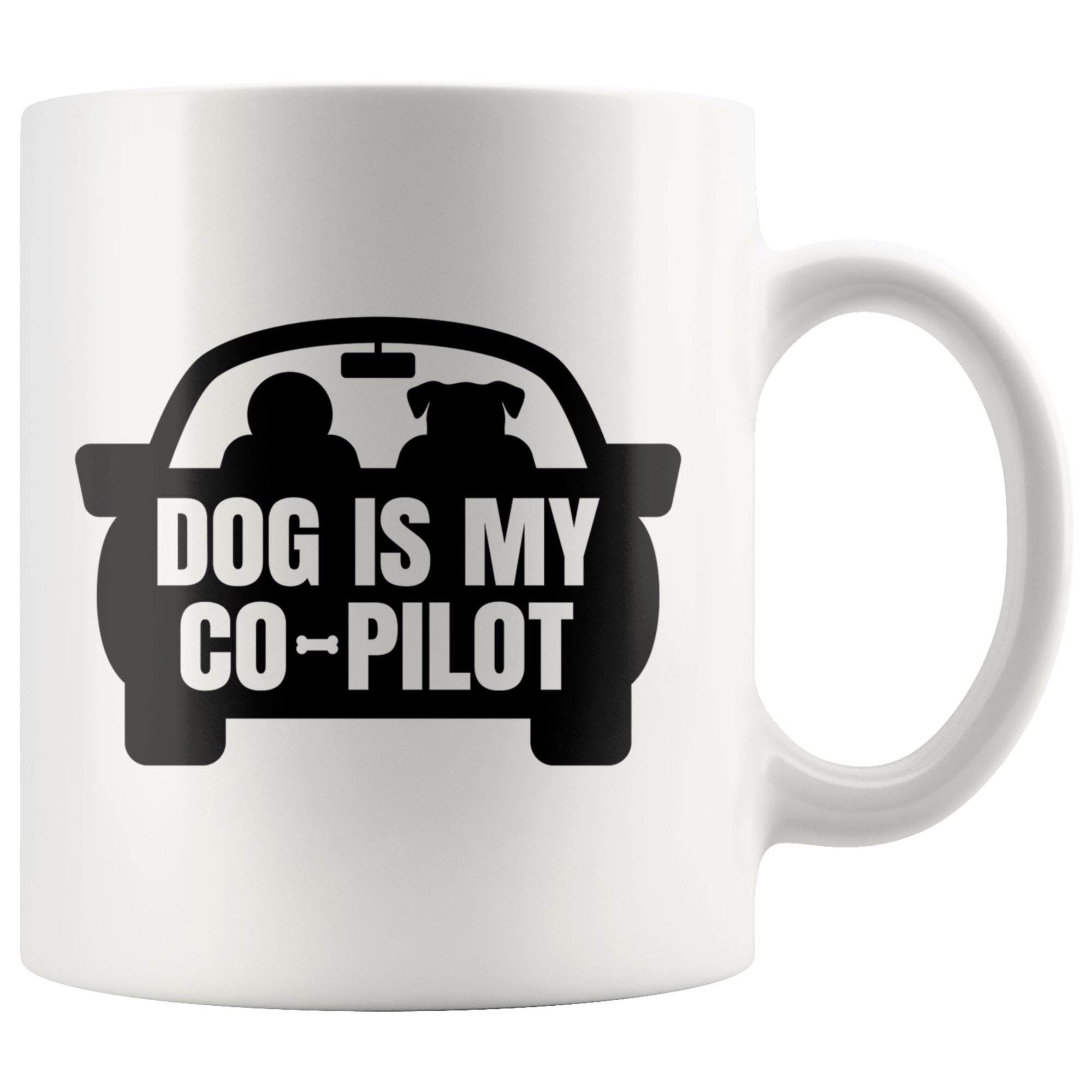 Dog is My Copilot Drinkware teelaunch 11oz Mug