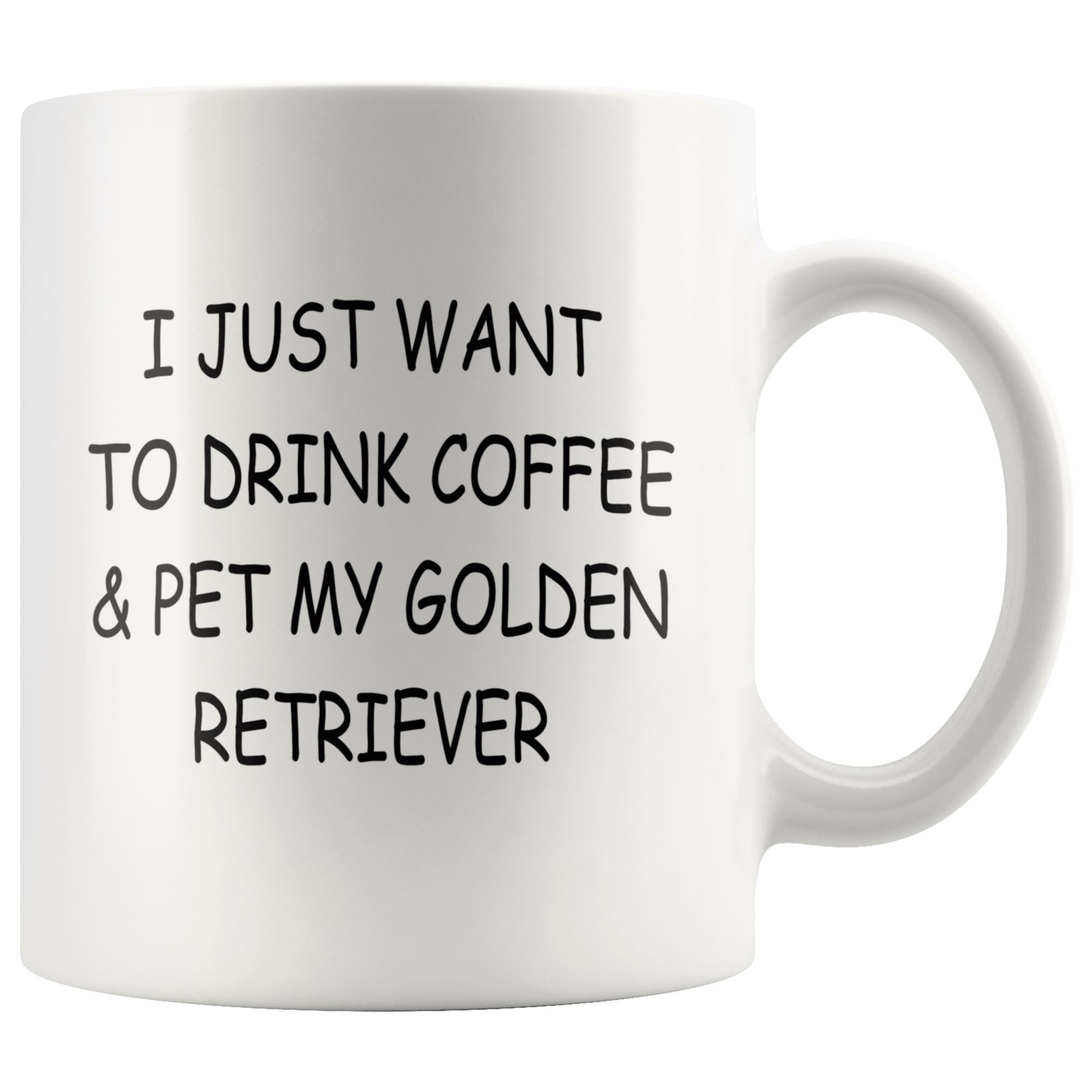 Golden Retriever Mug Drinkware teelaunch 11oz Mug
