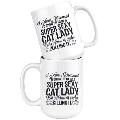 Sexy Cat lady Drinkware teelaunch
