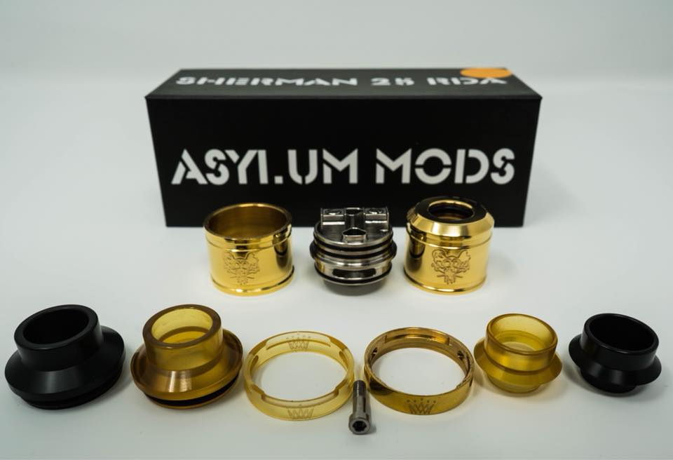 Sherman 25mm RDA Asylum Mods