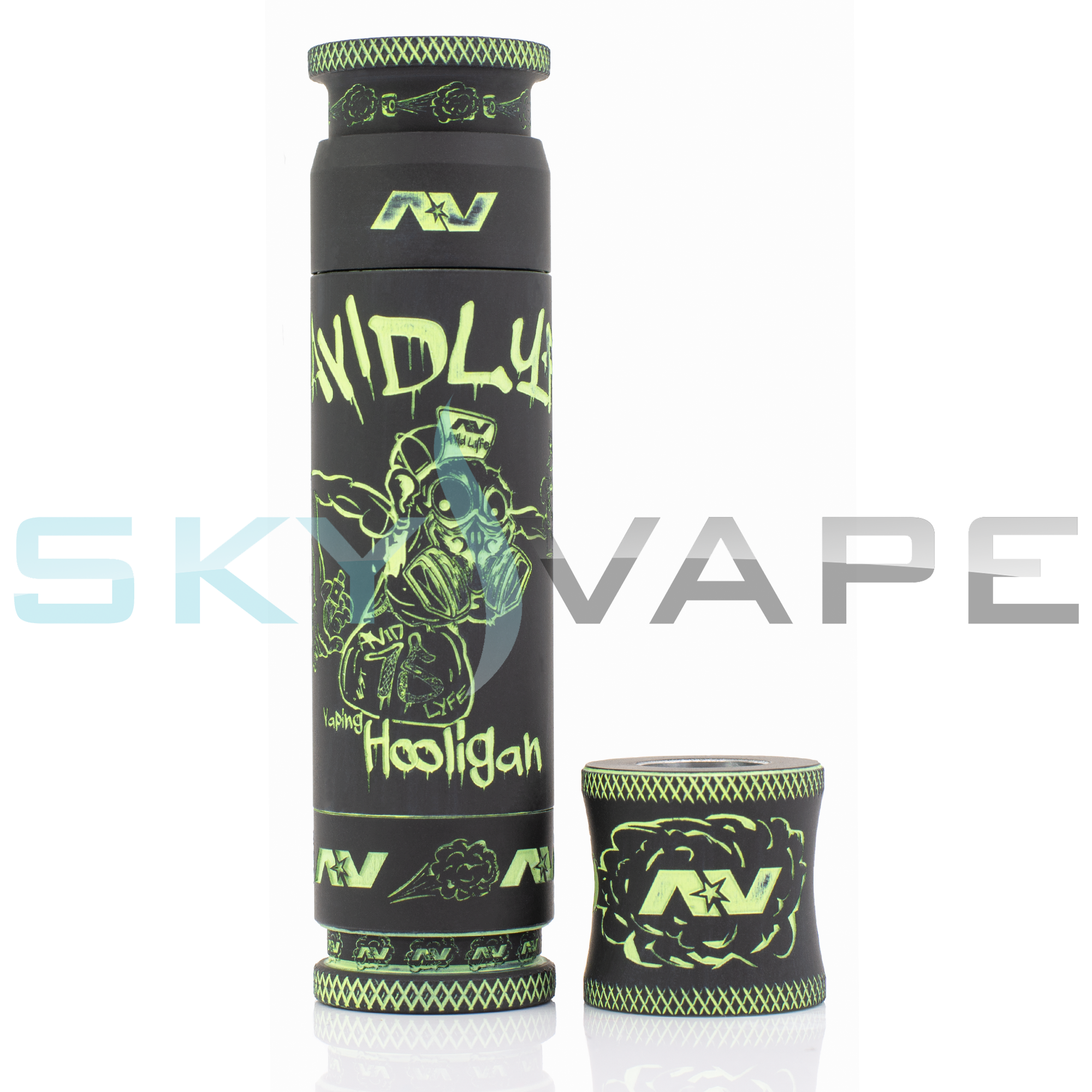 Avid Lyfe Black Vaping Hooligan Able Mod