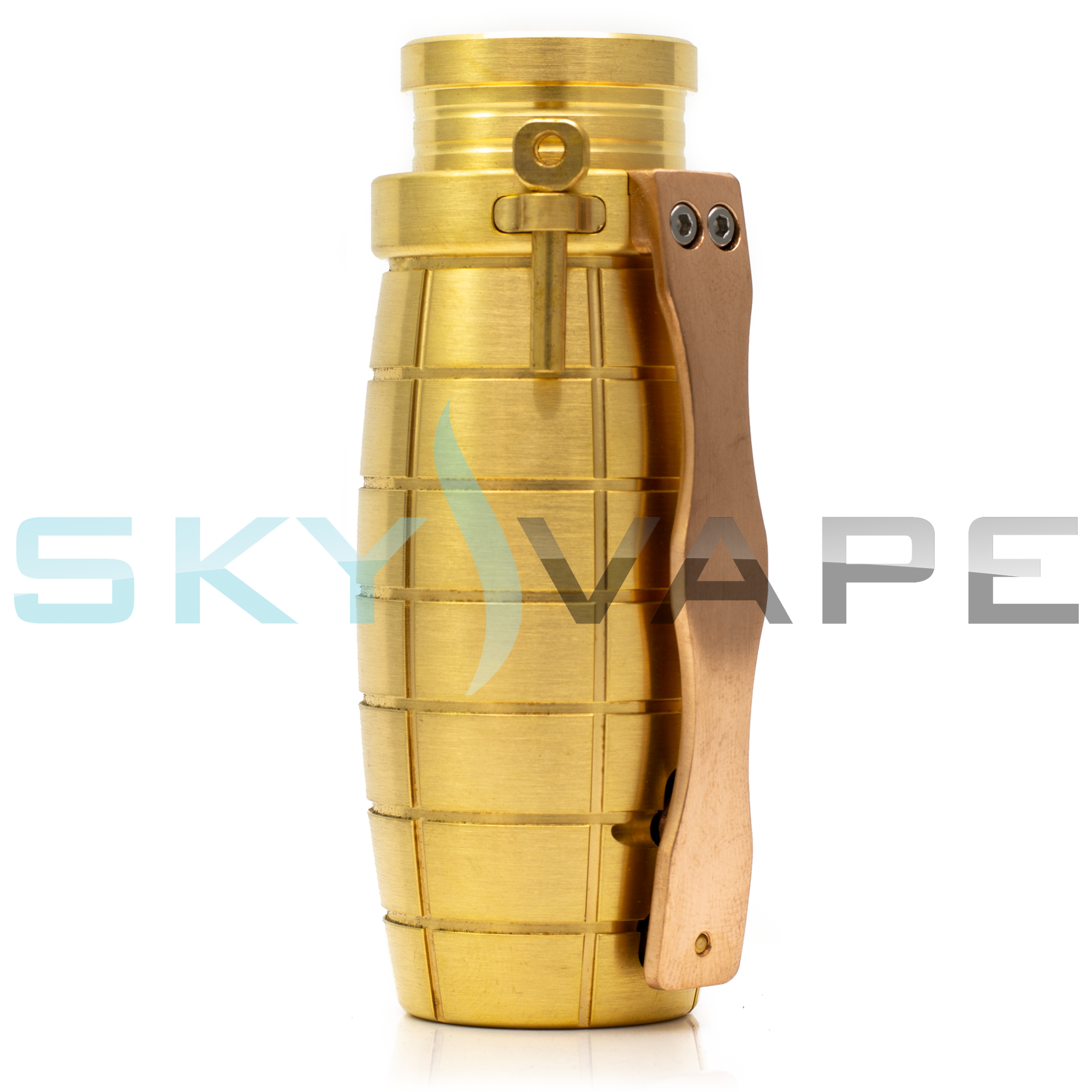 Immortal Modz Brass Gripnade Mechanical Mod