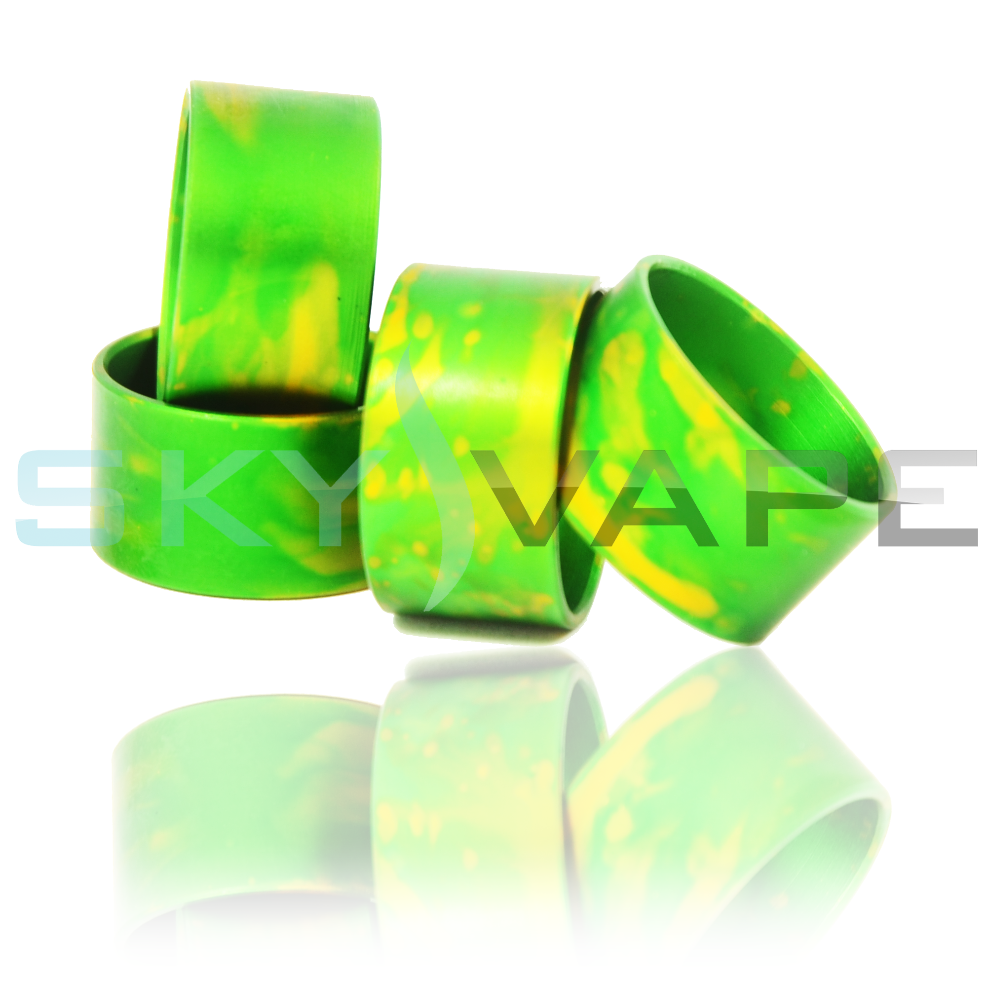 Able Ringer Rings Green By Comp Lyfe