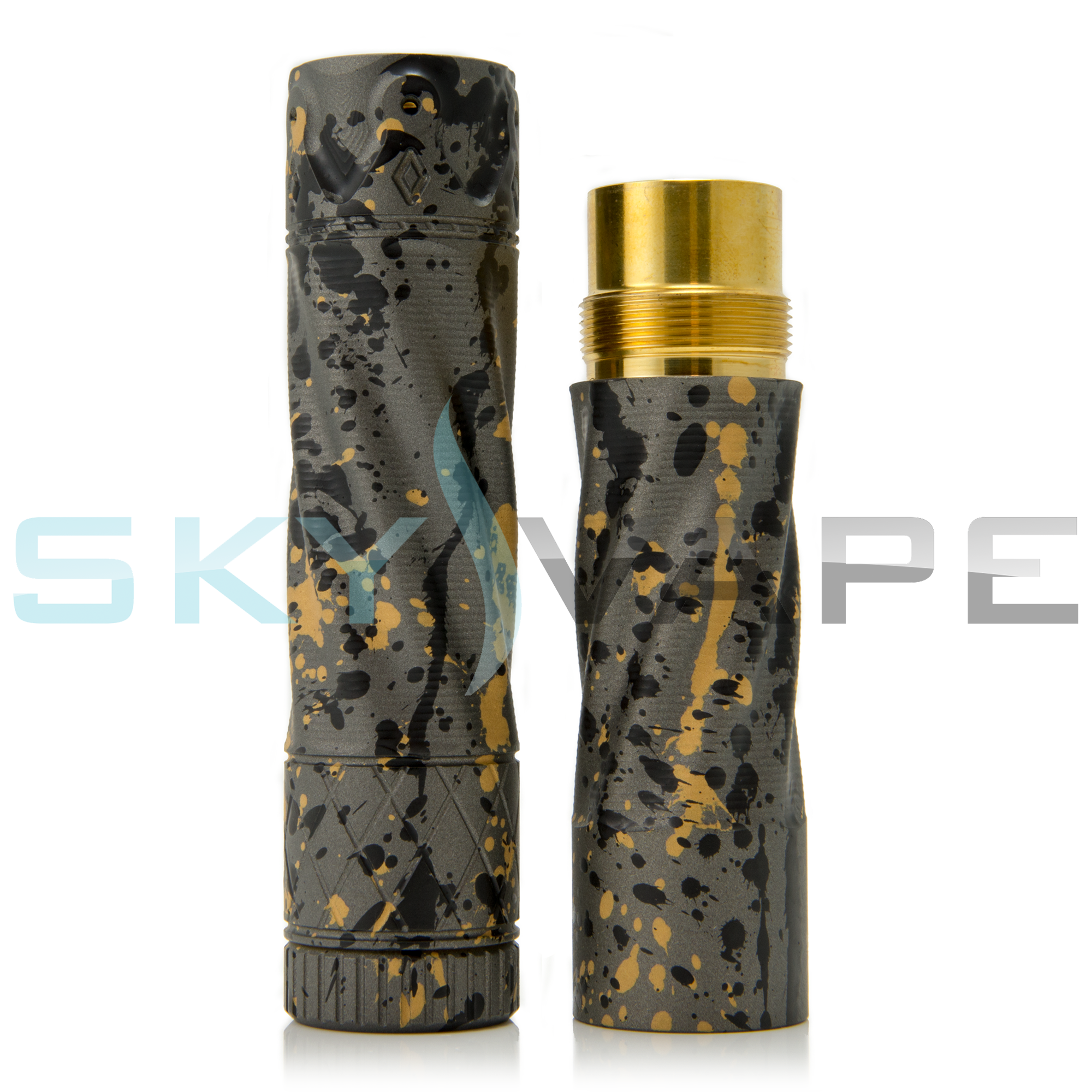 Purge Mods The King Grey and Gold Splatter Stacked Mod