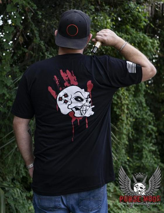 Purge Mods Red Hand T-Shirts