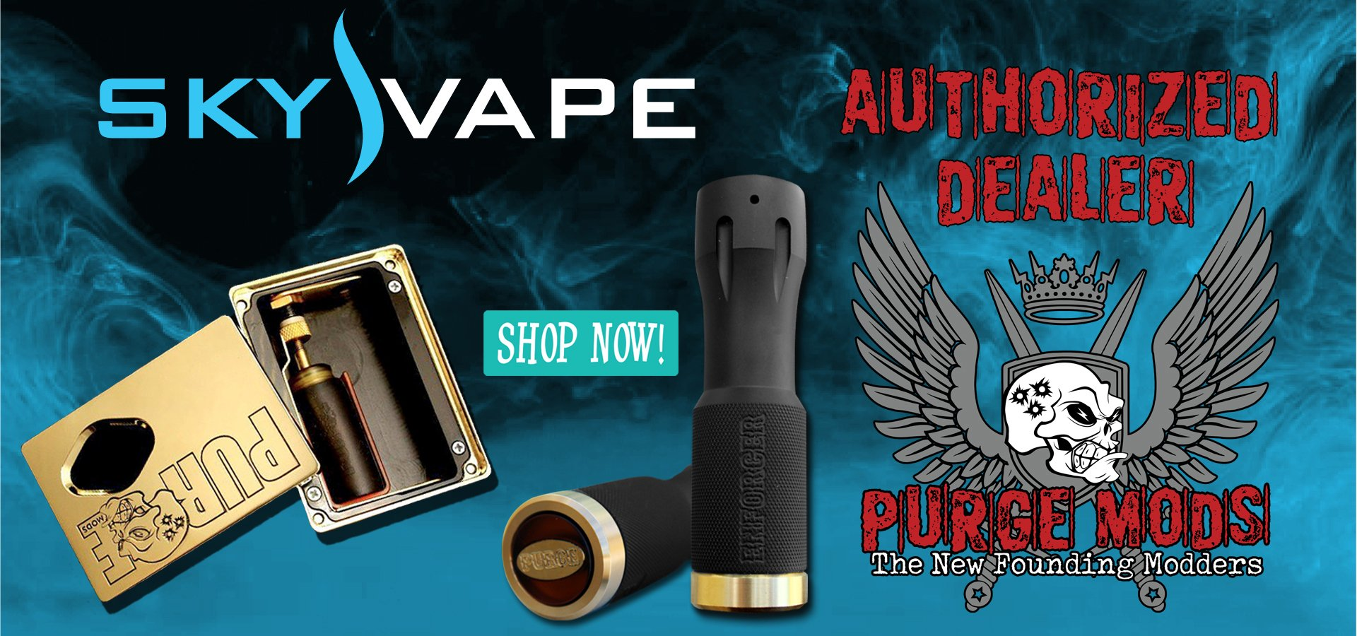 Sky Vape Purge Mods Authorized Dealer