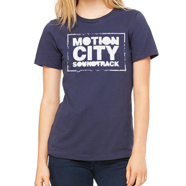 Ladies Logo Navy Tee