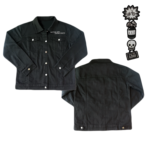 Denim Jacket + Patch Set [LIMITED]