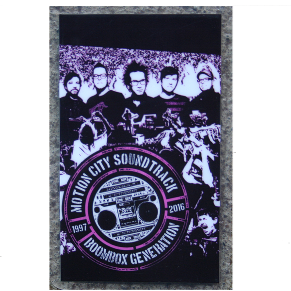 Boombox Generation 2016 Tour Laminate
