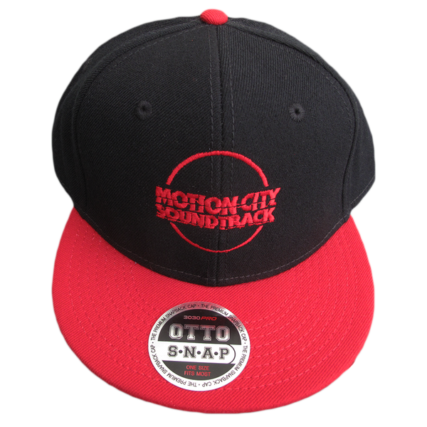 Red Logo Circle Hat
