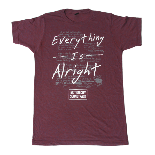 Everything Is Alright Tri-Berry Tee