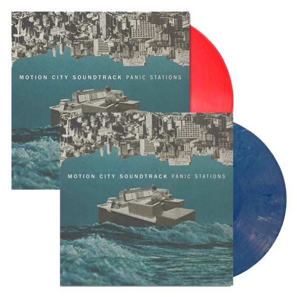 Panic Stations Red or Blue Vinyl