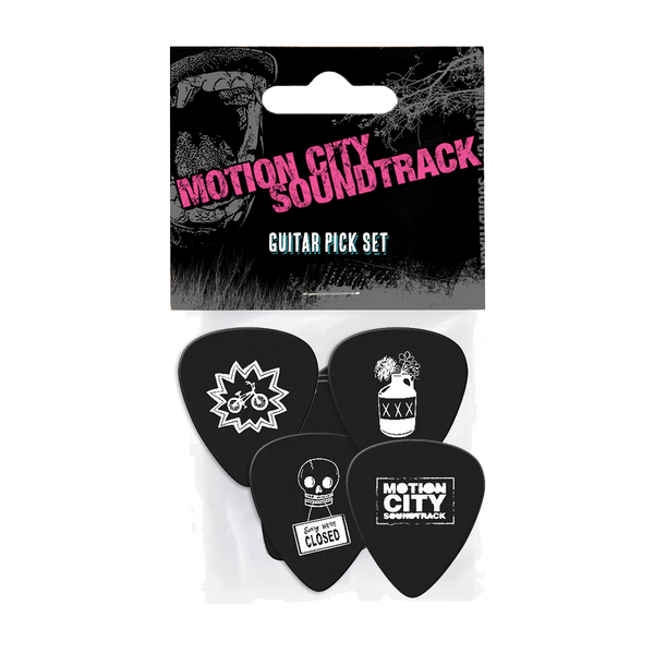 4 Piece Guitar Pick Pack