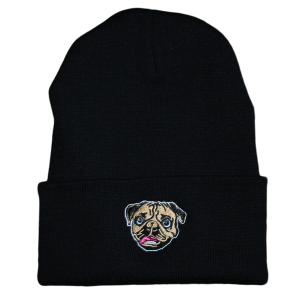 Doug Face Beanie Embroider
