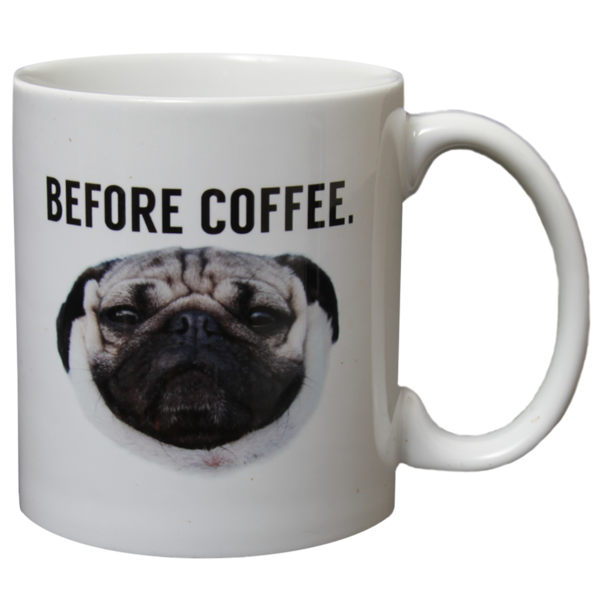 Before After Coffee Mug