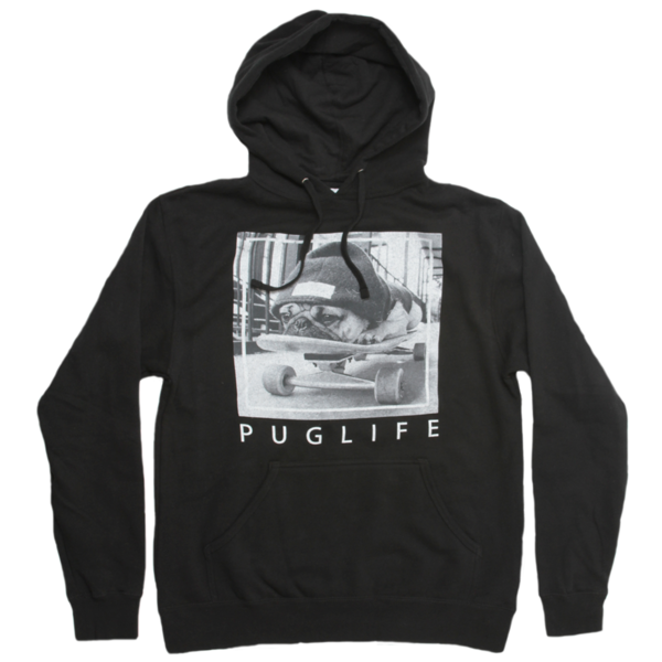 Pug Life Pullover Hoodie