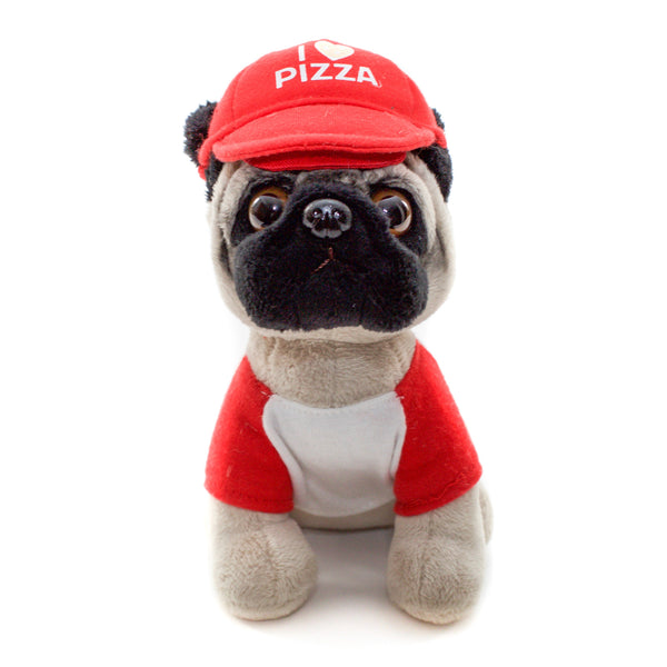 Pizza Pug Plushie