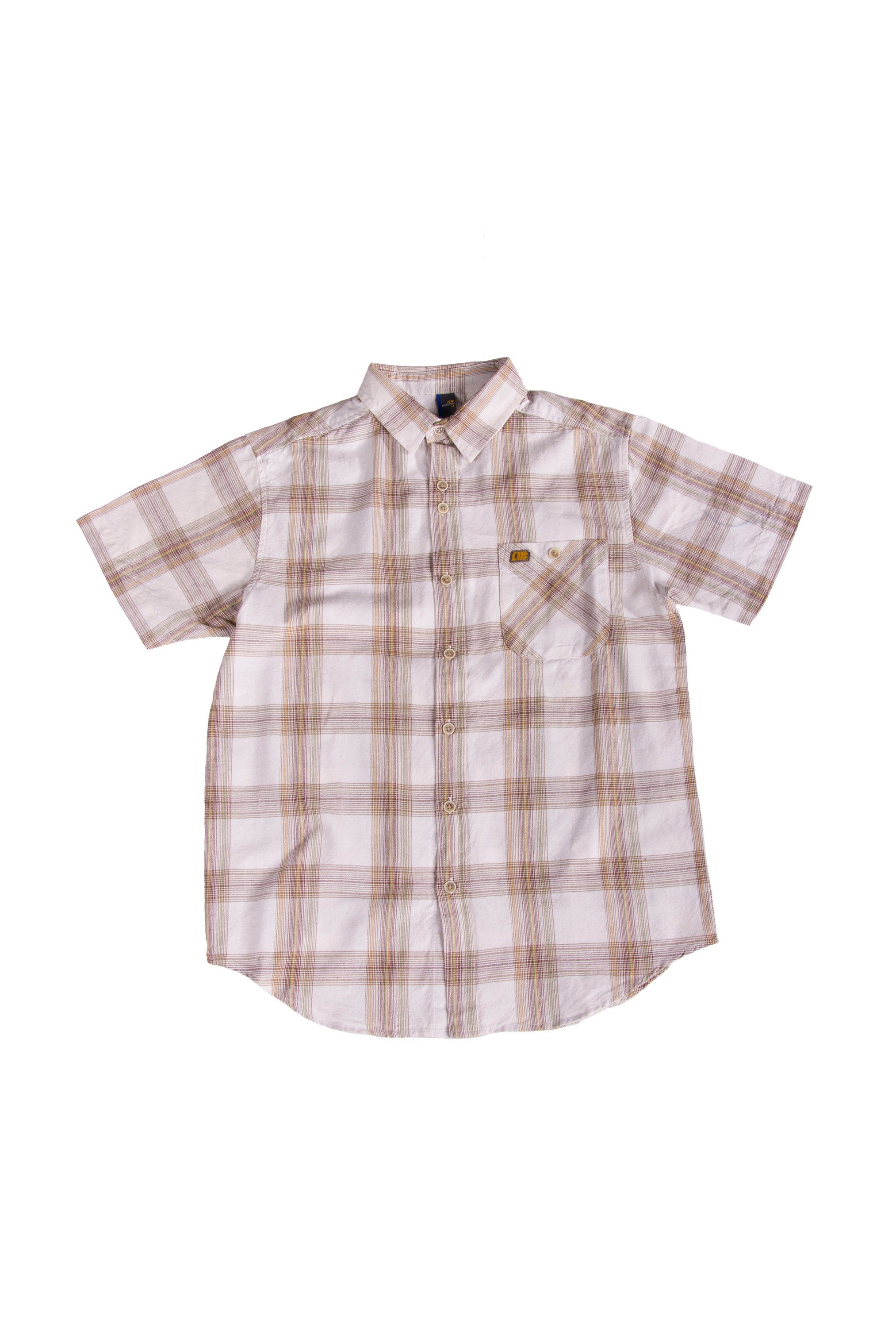 Alphanumeric Samara Plaid Short-sleeve