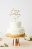Happy Birthday- Cake Topper