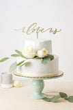 I Love Us- Cake Topper