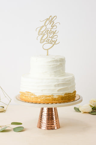 Oh Baby Baby- Cake Topper