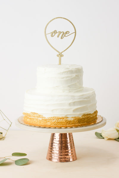 One' Balloon- Cake Topper