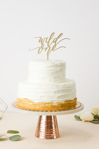 Wild One- Cake Topper