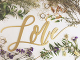 Love- Large Wedding Sign